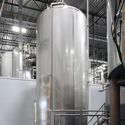 Getränkeherstellung: Wasserlagertank