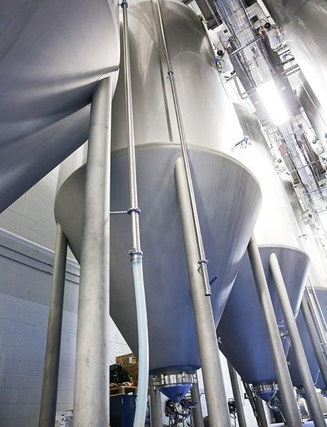 Kommerzielle Brauereitechnik – Gärbehälter für Bier