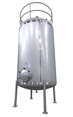 Tank zur Lagerung von Chemikalien