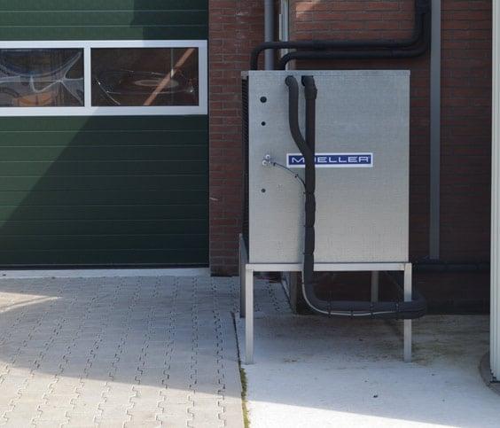 Plattenkühler Anlagen für Molkereibetriebe