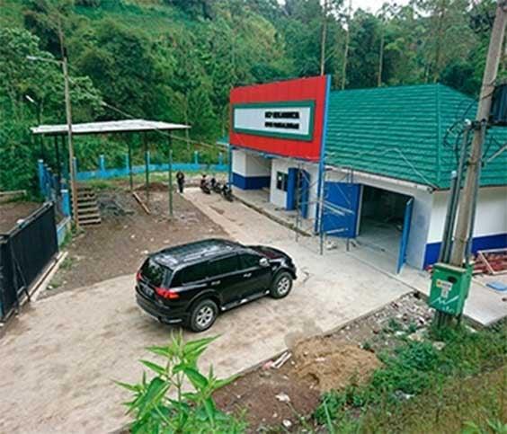 Milchsammelzentren Indonesien