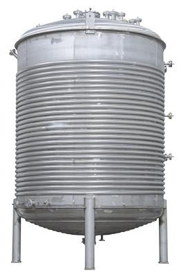 Spezialprozesstank mit Halbrohrwärmeübertragung