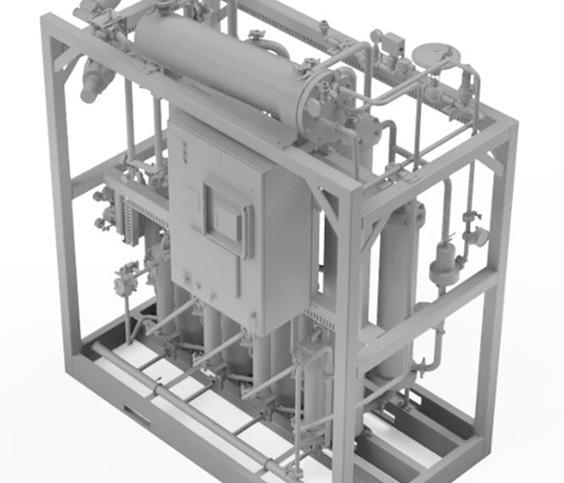 Pharmazeutisches Anlagenmodell 3D