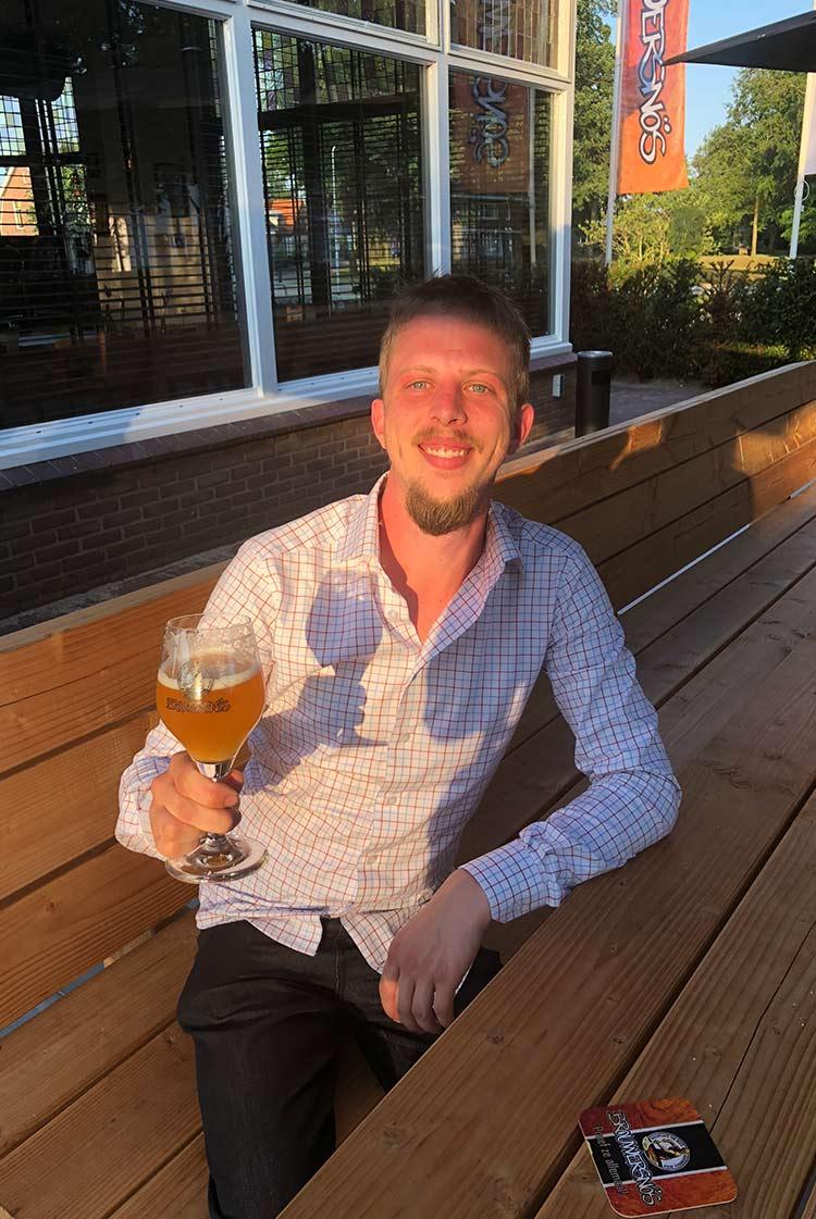 Brouwersnös Head Brewer Jan Luft