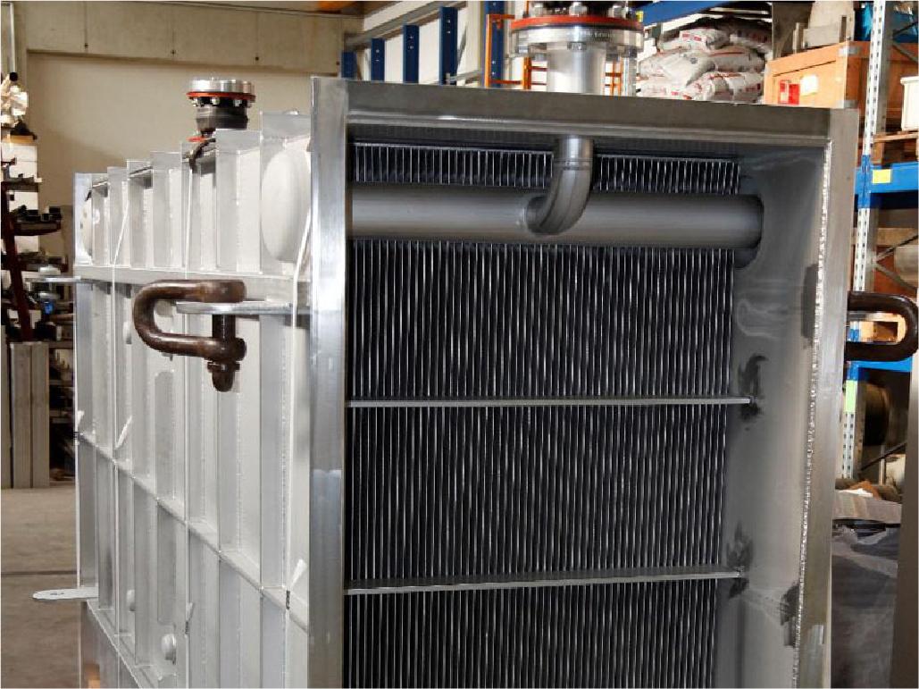 Flüssig/Gas Wärmetauscher
