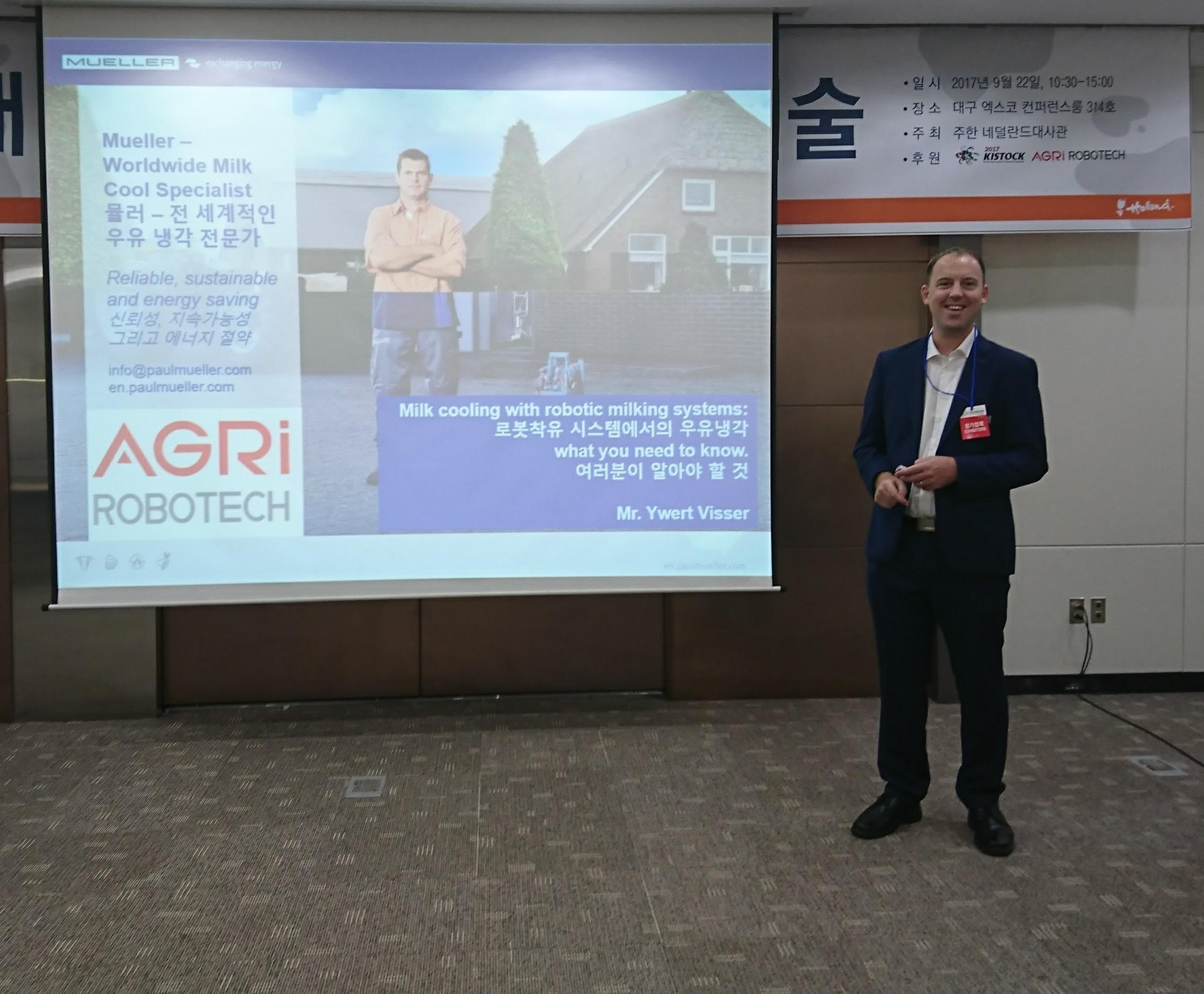 Präsentation von Ywert Visser in Asien
